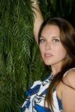 Hübsches Mädchen mit Freckles Lizenzfreies Stockbild