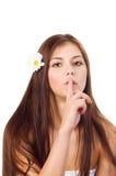 Hübsches Mädchen portret Lizenzfreie Stockfotos