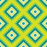 Hübsches Muster der Shweshwe-Diamant-Form stock abbildung