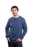 Hübsches nahöstliches Mannporträt Lizenzfreie Stockfotografie