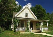 Hübsches viktorianisches Haus Lizenzfreies Stockfoto