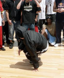 Hüftehopfen - breakdance 5 Lizenzfreie Stockfotografie