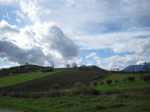 Hügel Stockbild