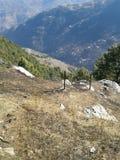 Hügel-Ansicht Stockbilder