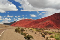 Hügel in Argentinien Stockfotografie
