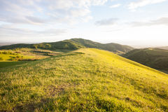 Hügel auf kaiserstuhl Berg nahe Freiburg Lizenzfreies Stockfoto