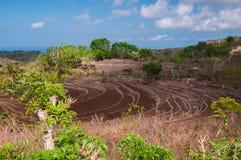 Hügel auf Nusa Penida, Indonesien Lizenzfreies Stockbild