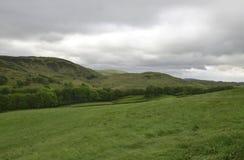 Hügel der Seebezirk Stockfotos