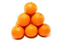 Hügel der Tangerinen Stockfotografie