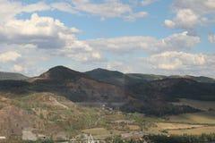 Hügel in der Tschechischen Republik lizenzfreie stockfotografie