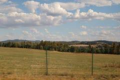 Hügel in der Tschechischen Republik stockbild