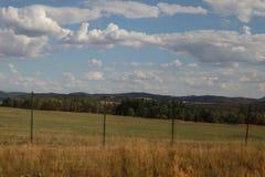 Hügel in der Tschechischen Republik lizenzfreies stockfoto