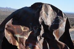 Hügel des Metallschmutzes Lizenzfreies Stockfoto