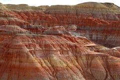 Hügel des Sandsteins Stockfoto