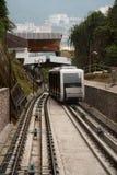 Hügel-Drahtseilbahn Malaysia-Penang Stockfotografie