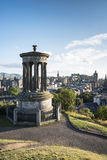 Hügel Edinburghs Calton Lizenzfreies Stockfoto