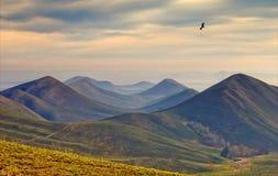 Hügel am Herbsttag. Lizenzfreie Stockfotos