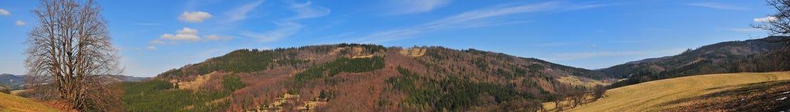 Hügel im wallachia Stockbilder