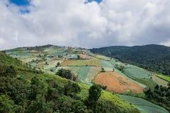 Hügel Khao Kho stockfotos