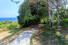 Hügel in Koh Maiton-Insel Stockbilder