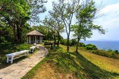 Hügel in Koh Maiton-Insel Stockfoto