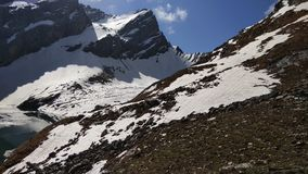 Hügel mit Eis Lizenzfreie Stockfotos