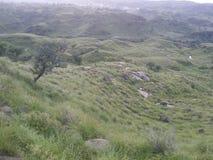 Hügel schön Stockfoto