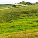 Hügel in Sizilien Lizenzfreie Stockbilder