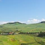 Hügel in Sizilien Lizenzfreie Stockfotografie