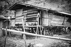 Hügel tribeUnidentified hilltribe, Morgenmarkt, Chaing-rai, Tha Stockbilder