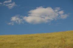 Hügel und die Straße Lizenzfreies Stockfoto