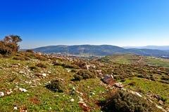 Hügel von Galiläa stockfotografie