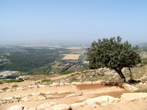 Hügel von Galil Lizenzfreie Stockfotografie