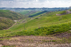 Hügel von Imola stockbild