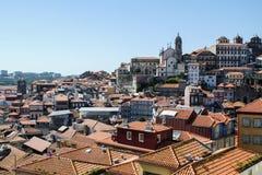 Hügel von Porto, Portugal stockfotos