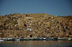 Hügel von Puno Stockfotografie