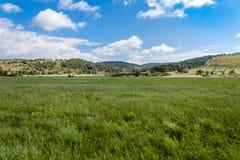 Hügel von Süd- West-Frankreich Stockbild