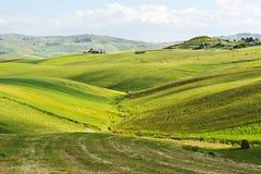 Hügel von Sizilien Stockbilder