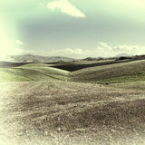 Hügel von Sizilien Stockfoto