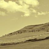 Hügel von Sizilien Lizenzfreie Stockfotos