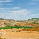 Hügel von Sizilien Lizenzfreie Stockfotografie