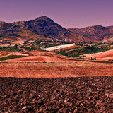 Hügel von Sizilien Lizenzfreies Stockbild