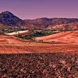 Hügel von Sizilien Stockbild