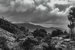 Hügel von Wayanad Lizenzfreie Stockbilder