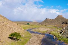 Hügel in Wüstenod Argentinien Lizenzfreie Stockfotos