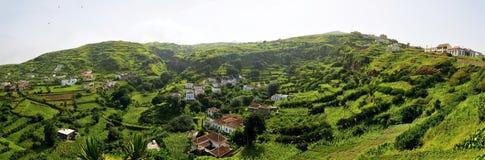 Hügel zum Tal in Brava Lizenzfreie Stockbilder