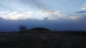 Hügelgrab in Arciz-Stadt Lizenzfreie Stockbilder