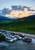 Hügeliger Bereich, Nationalpark Lizenzfreie Stockfotografie