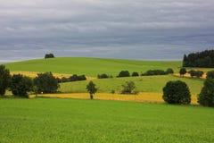 Hügeliges Land Lizenzfreie Stockfotos