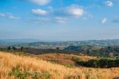 Hügellandschaft lizenzfreie stockfotos
